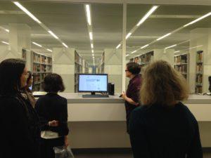 In der Campusbibliothek der FU Berlin