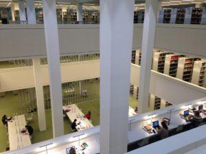 Neubau der Campusbibliothek der FU Berlin