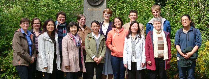 TeilnehmerInnen der 45. Konferenz des AK Japan-Bibliotheken (SBB-PK)